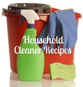 Homemade Household Cleaner Recipes