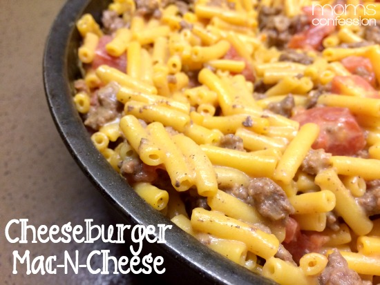 Simple and easy dinner idea: Cheeseburger Macaroni 'N Cheese