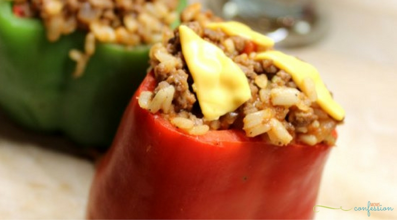 These easy stuffed peppers are great on a cool evening and dinner is ready in less than 30 minutes. Take back dinnertime with this stuffed pepper recipe.