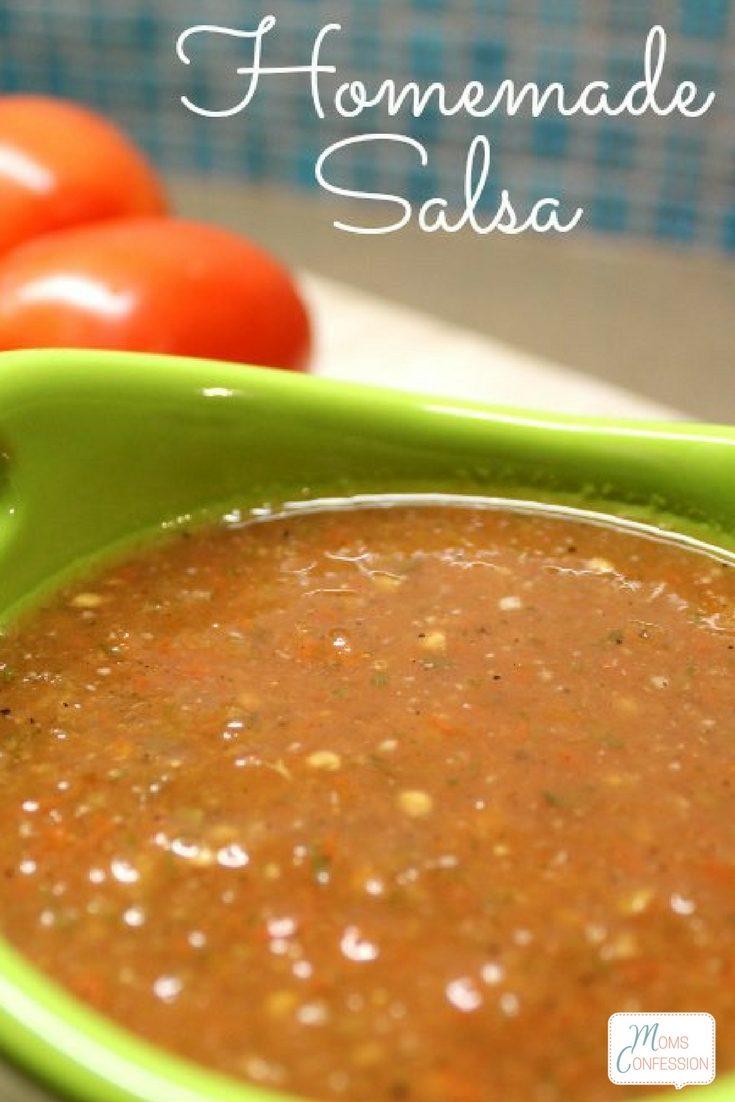 30 Minute Homemade Salsa Recipe