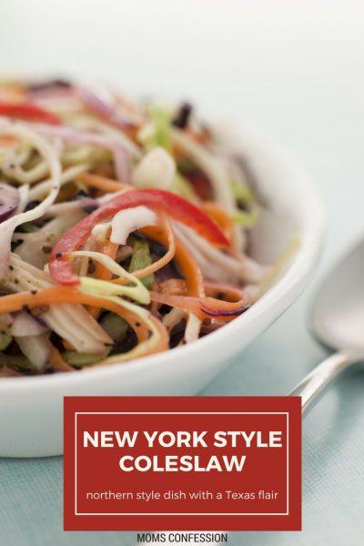 New York Style Coleslaw Recipe