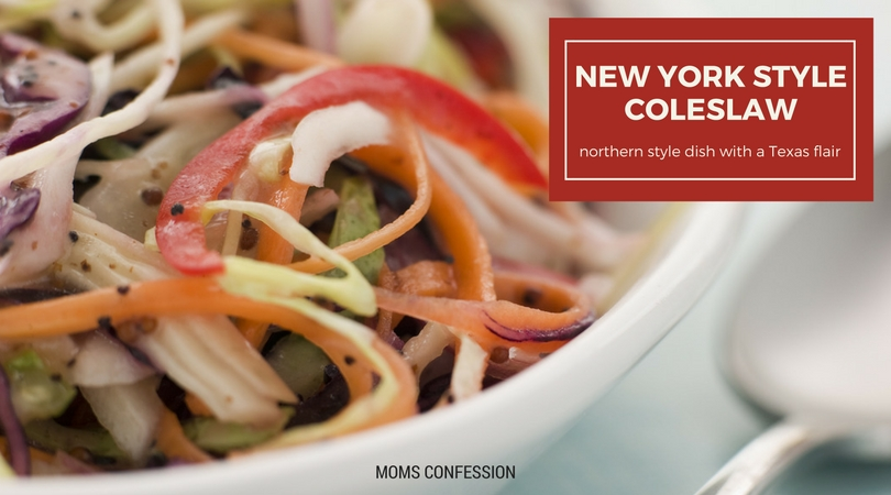 This New York Style Coleslaw Recipe is great as a light snack or side for an outdoor barbecue. Enjoy the Texas flavors of this northern style recipe.