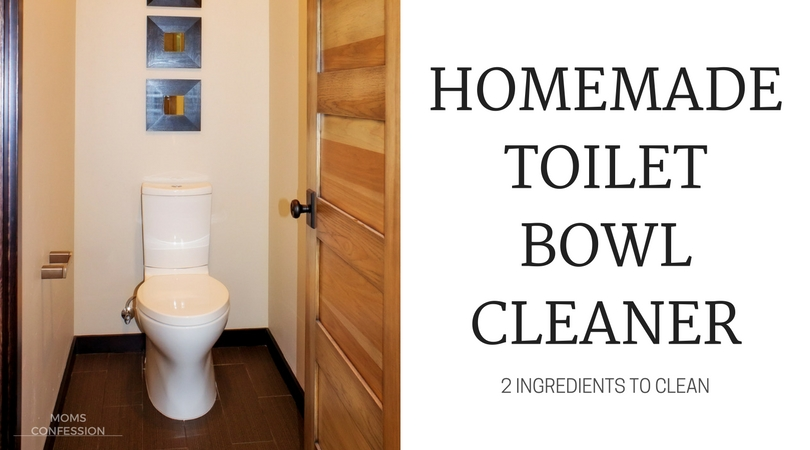 Simple and easy wins the race on this homemade cleaner! If you have these two ingredients on hand, you should give this homemade toilet bowl cleaner a try!
