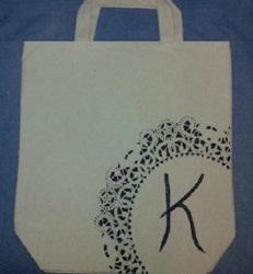 Tutorial - Hand Painted Or Rhinestone Tote Bag