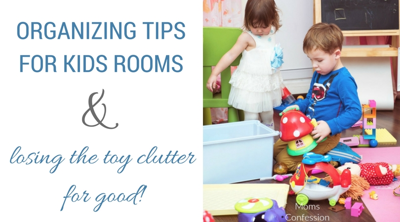 Organizing kids rooms can be a tedious task to complete but if you have the right tools, you can lose the clutter in your kid's room today!