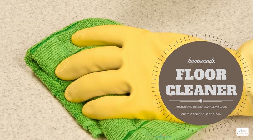 3 Ingredient Natural Homemade Floor Cleaner