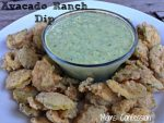 avacado ranch dip