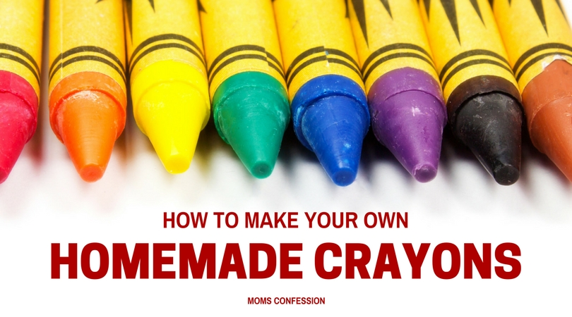 Learn how to make homemade crayons at home with your kids. The process to make your own crayons is so simple to do and the kids love creating their own special colors too! Get started today!
