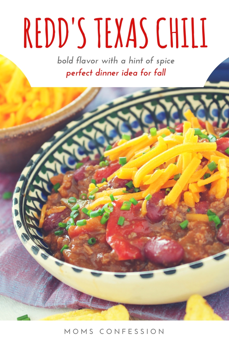 We love finding new ways to dress up the traditional chili recipe and make our own Texas Chili. This chili recipe is perfect for fall! You should try it!
