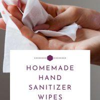 Homemade Hand Sanitizer Wipes