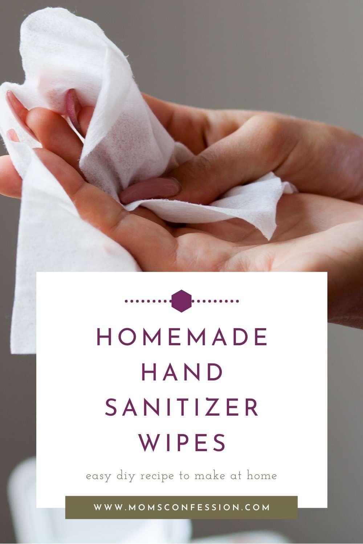 Easy Homemade Hand Sanitizing Wipes Recipe
