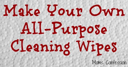 All Purpose Cleaning Wipes {Cleaning Recipe}