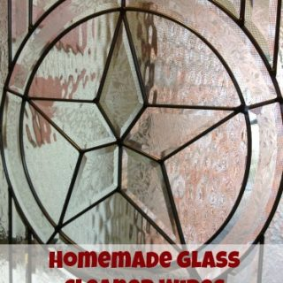 Homemade Glass Cleaner Wipes