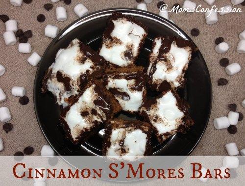 Cinnamon S'Mores Bars