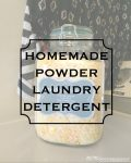 easy homemade powder laundry detergent recipe