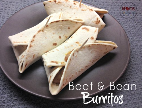 Mexican Beef and Bean Burritos – A Classic Recipe Idea for Burrito Lovers