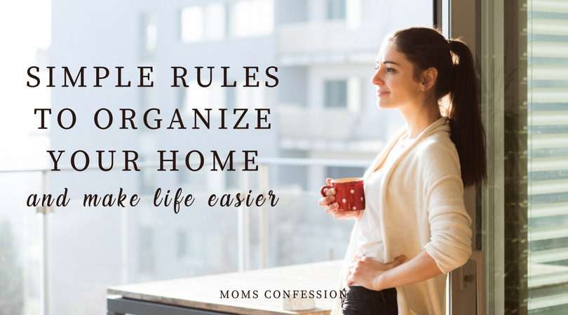 These simple rules to organize your home will help you make life easier so you can enjoy a blissful lifestyle with your family and friends.
