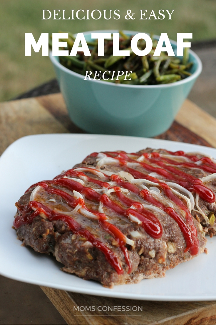 Looking for a delicious and easy meatloaf recipe? Look no further! This is by far the best simple meatloaf recipe you will try that's been passed down from my mom!