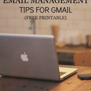 Do you ever feel like you're drowning in emails? I did, but these email management tips for gmail got me out of my inbox and back to enjoying life!