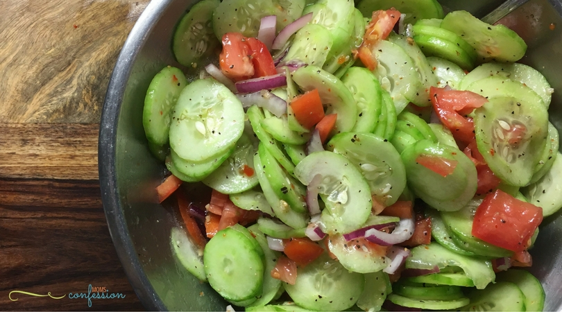 Easy summer salad recipes like this refreshing cucumber salad are delicious, light, and filling all rolled into one dish.