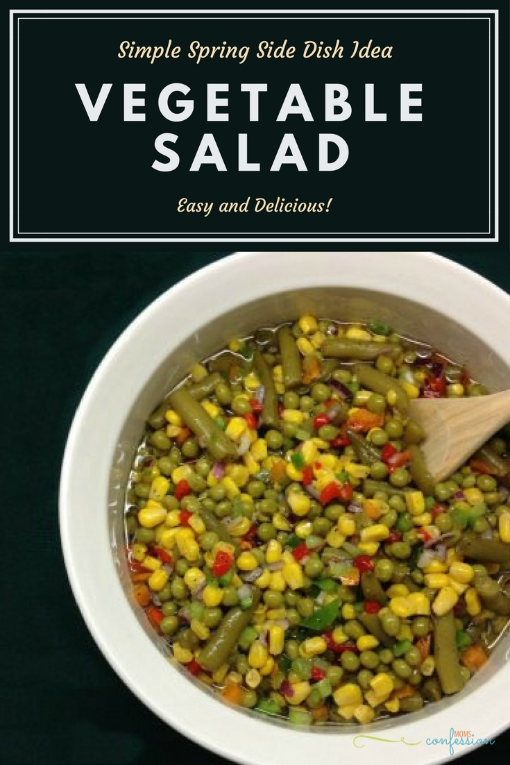 This simple spring salad recipe is sweet and tangy. You don't want to keep this recipe to yourself, your friends and family will love it too! Check it out!