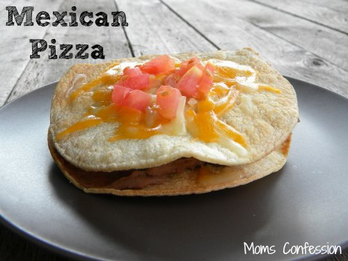 Mexican Pizza Recipe Inspired by Taco Bell for Cinco de Mayo