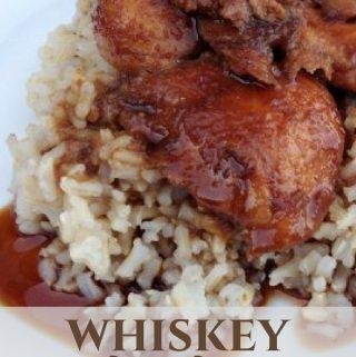 whiskey chicken dinner idea