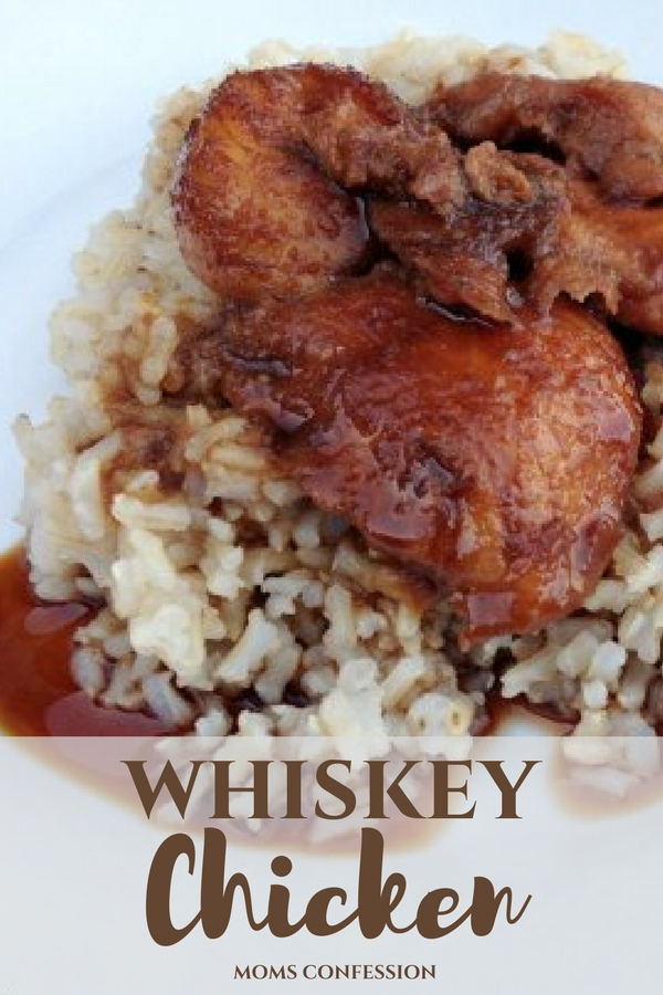 whiskey chicken dinner idea