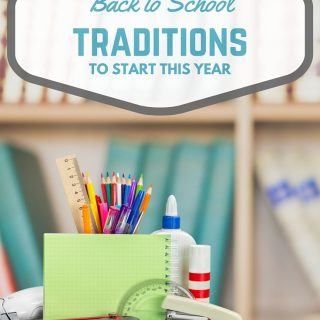 Check out these must do back to school traditions my mom started with me and the new traditions, I have started with my boys! Start your own…your kids will love it!!