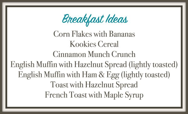 aldi meal plan breakfast ideas