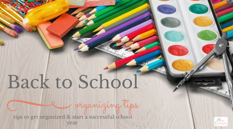 Going back to school doesn't have to be unorganized and chaotic. Use these back to school tips to get organized and start a successful school year.