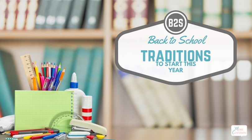 Check out these must do back to school traditions my mom started with me & the new traditions I have started with my boys! Start your own...your kids will love it!