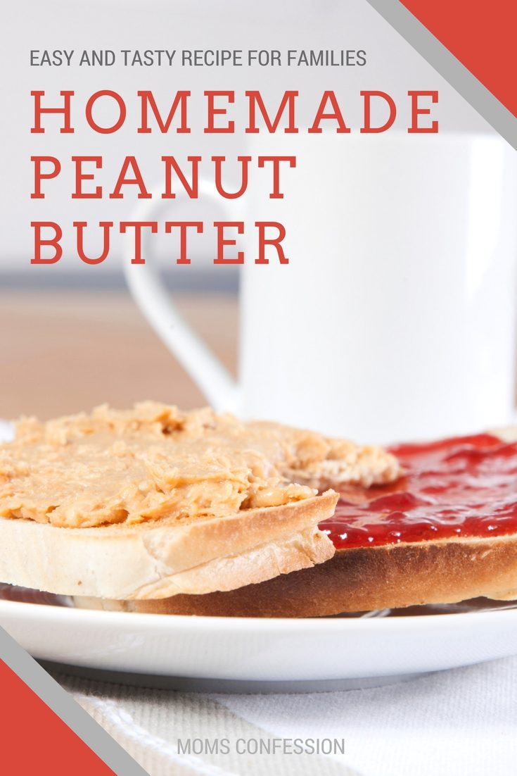 Homemade Honey Peanut Butter