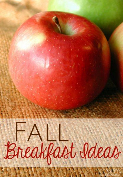 Fall Breakfast Ideas