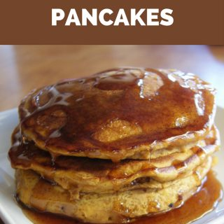 Pumpkin Pancakes are a great way to wake up to a crisp and cool fall morning. These pumpkin spice pancakes are filling and flavorful with all the amazing spices of fall.