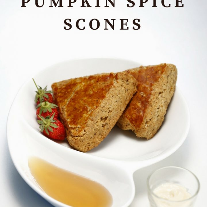 These delicious pumpkin spice scones pair well with a rich cup of hot coffee. You must try this fall recipe idea today. They are SO GOOD!