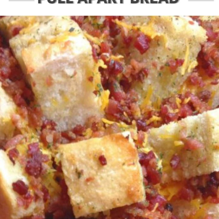 Cheesy Bacon Ranch Pull Apart Bread Recipe