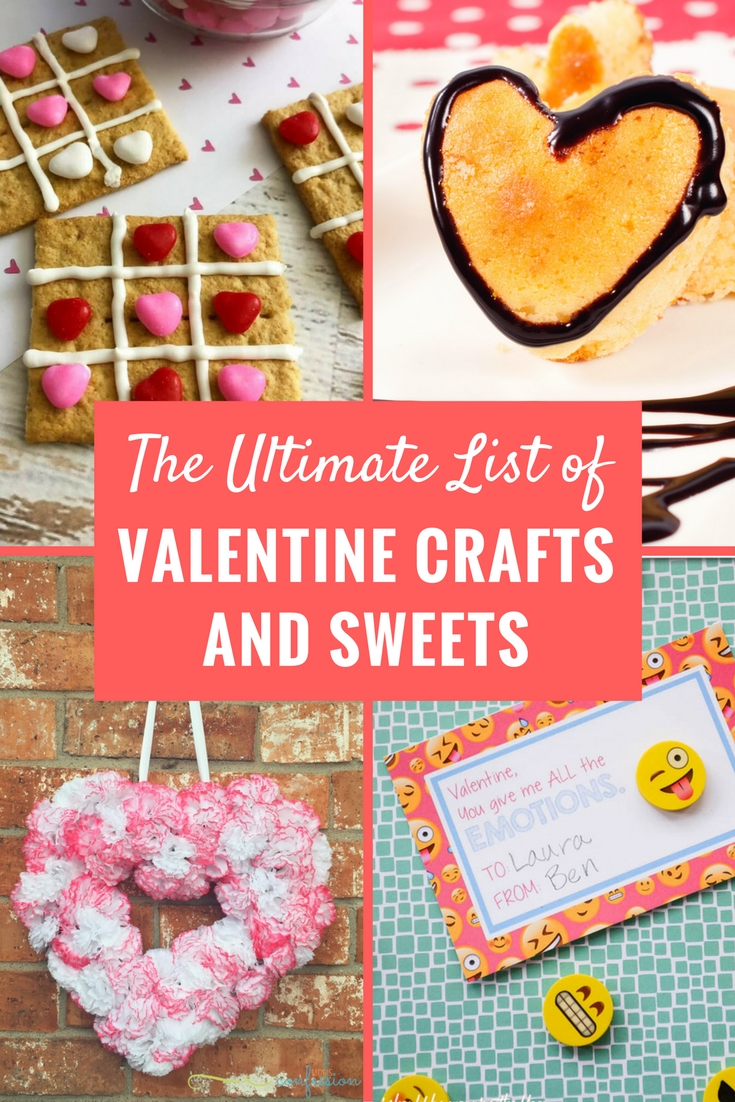 If you are searching for last minute Valentine's day ideas for crafts and sweets...I have the perfect little resource for you. Check out the ultimate list of Valentines day ideas from across the internet!