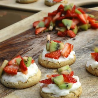 mini fruit pizza cookies recipe