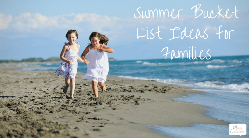 summer bucket list ideas for families