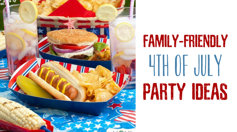 These 4th of July party ideas are great to enjoy everything red, white and blue with your friends and family at your backyard barbecue.