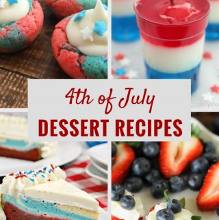 If you are looking to add something sweet to your 4th of July, you don't want to miss out on these amazing 4th of July dessert recipes. All #1 in my books!