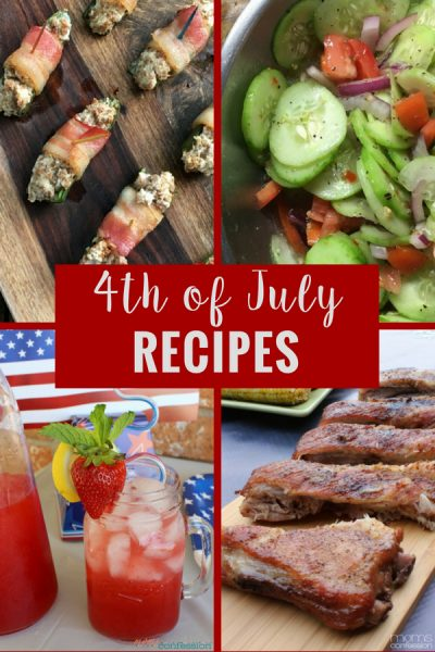 4th of July Recipes to Celebrate Everything Red, White & Blue