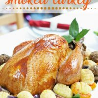 Perfectly Smoked Turkey + Meal Planning Tips for Thanksgiving