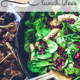 These summer lunch ideas will fill you up and cool you off. Not only are the delicious, they're also healthy and super easy to make. You could even pack up any of these lunch ideas for a summer picnic with the entire family!