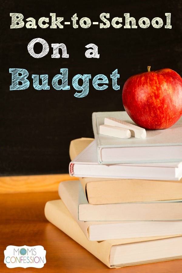 Back to school on a budget