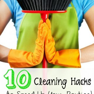 10+ House Cleaning Hacks To Speed Up Your Routine