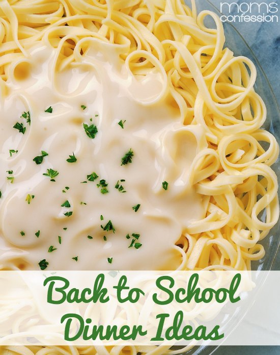Make dinnertime a little easier this school year by planning some of these easy and delicious back to school dinner ideas into your weekly menu.