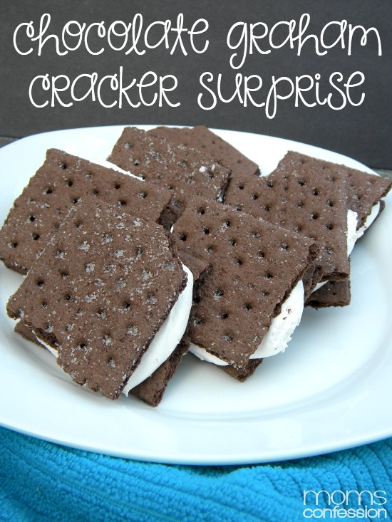 Summer Snack Ideas for Kids: Chocolate Graham Cracker Surprise