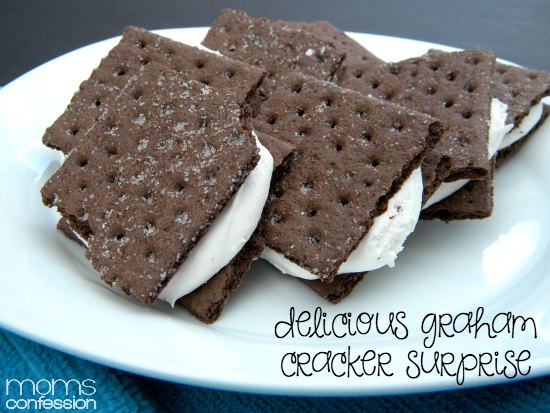 A delicious graham cracker surprise that's full of yumminess!! Try for yourself!